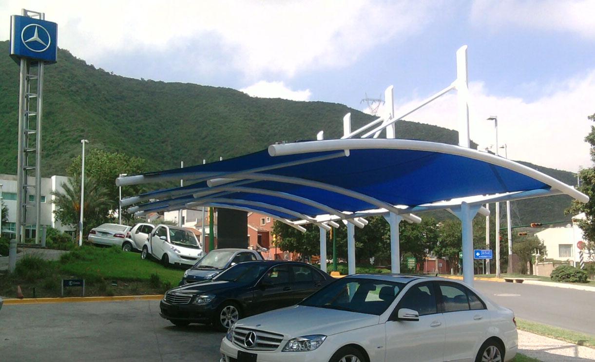 cocheras y estacionamientos cuball tenso cubiertas